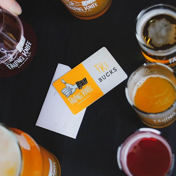 Fallinkg Knife Brewing Co. Gift Card
